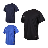MIZUNO 男棒球練習短袖T恤(免運 美津濃 吸濕速乾 運動 上衣 台灣製≡排汗專家≡