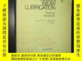 二手書博民逛書店FRICTION罕見WEAR LUBRICATION 2 (摩擦