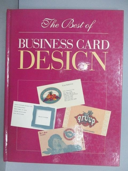 【書寶二手書T5/設計_EQT】The Best of Business Card Design
