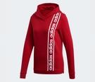 Adidas CELEBRATE THE '90S HOODIE 女款紅色長袖帽T-NO.EH6463