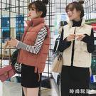 2018新款冬季羽絨馬甲女短款韓版時尚外套中大尺嗎zzy6166『時尚玩家』