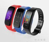 新款運動智能手環防水情侶彩屏腕表通用igo  韓風物語