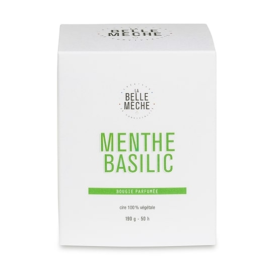 【La Belle Meche】薄荷羅勒香氛蠟燭190g