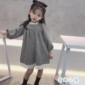 連身裙女童秋裝兒童時尚加絨公主裙【奇趣小屋】