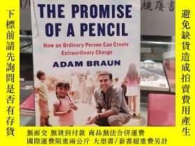 二手書博民逛書店The罕見promise of a pencil:How an