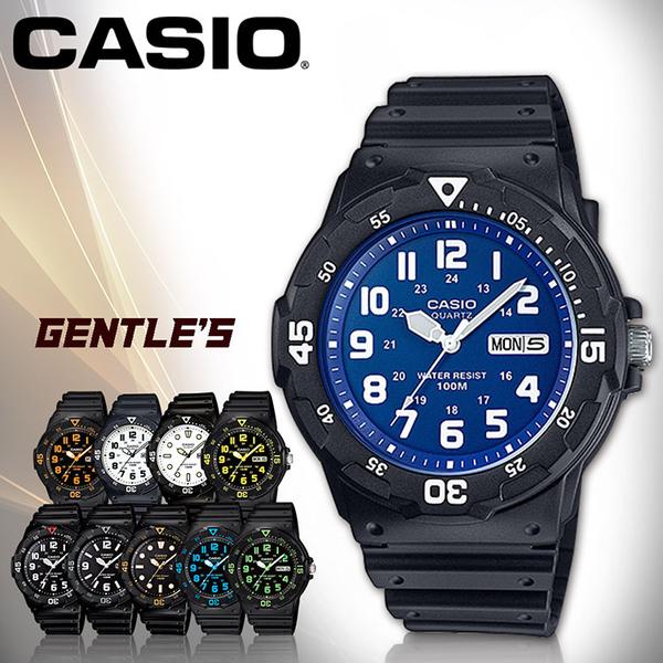 CASIO手錶專賣店 卡西歐  MRW-200H-2B2 男錶  防水100米 造型指針 星期、日期顯示  塑膠錶帶
