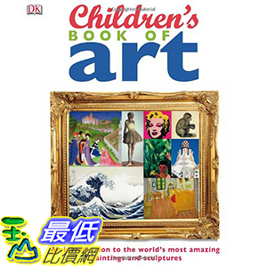 [106美國直購] 2017美國暢銷兒童書 Children s Book of Art Hardcover
