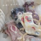 珊瑚絨地板襪女士可愛少女家居襪睡眠襪加厚...