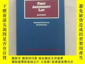 二手書博民逛書店FIRST罕見AMENDMENT LAW 6th 第一修正案 第