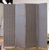 屏風隔斷客廳現代簡約 簡易折疊屏風玄關牆 中式實木行動酒店折屏MBS「時尚彩虹屋」