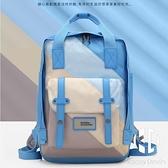 背包女時尚大容量雙肩包男15.6英寸筆記本電腦包旅行防潑水書包【Kacey Devlin】