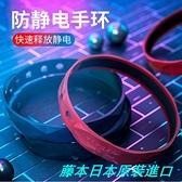 現貨!日本進口 去靜電 無線防靜電手環 負離子 放靜電釋放器 男女手腕帶人體去除靜電