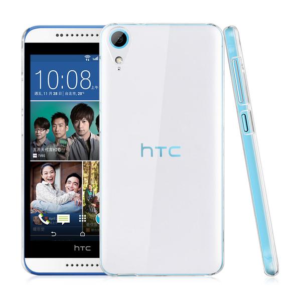 hTC Desire 830 晶亮透明 TPU 高質感軟式手機殼/保護套  光學紋理設計防指紋