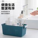 【雙手柄收納盒】北歐風十字鏤空置物盒 廚房衛浴室輕鬆分類儲物盒 收納籃