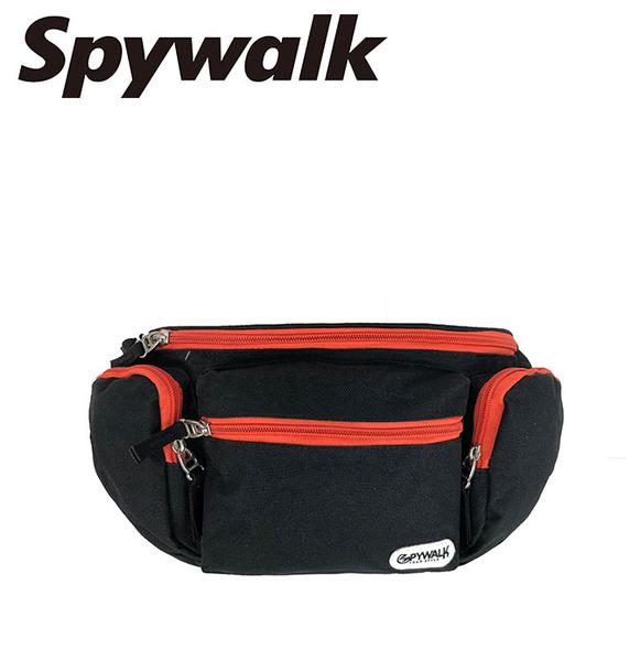 SPYWALK 簡約亮色線條腰包 NO:2576