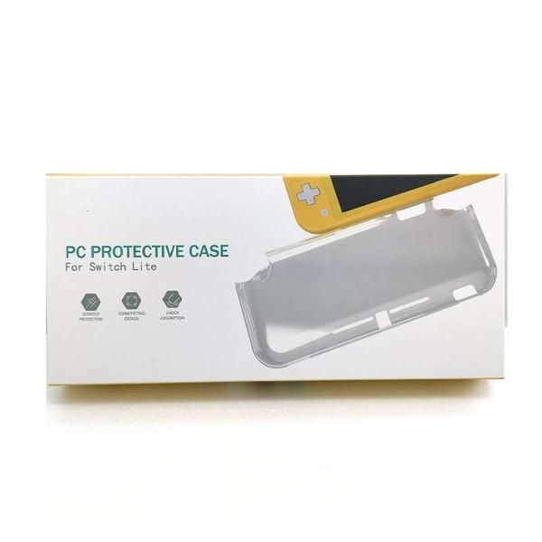 [8玉山最低比價網] 任天堂 switch Lite水晶殼 NS L保護套 透明硬殼 一體式PC保護殼 NS