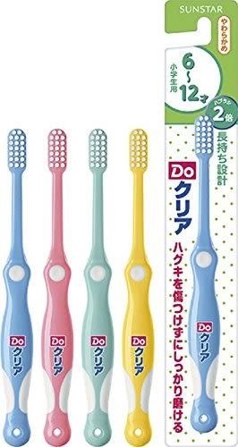 日本 SUNSTAR 巧虎 牙刷 6~12歲 (顏色隨機) 【4811】