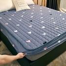 床罩 夾棉床笠單件隔尿防水床罩床單防滑固定加厚席夢思床墊防塵保護套【幸福小屋】