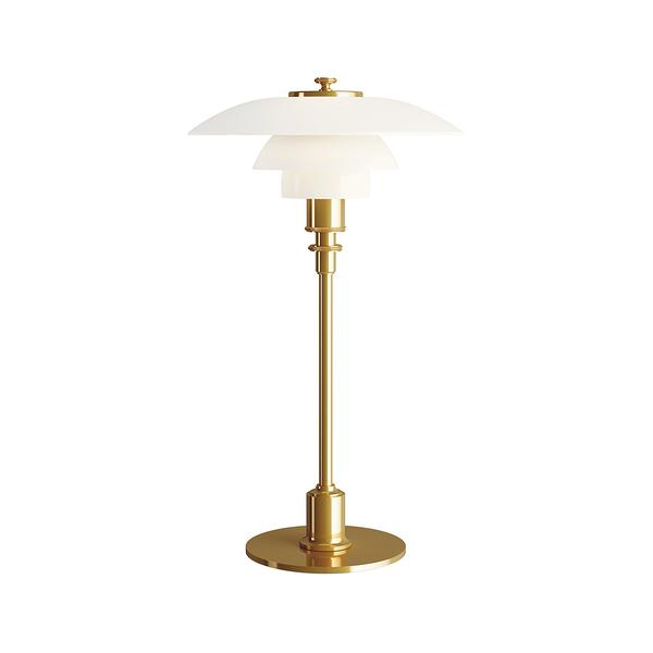 Louis Poulsen PH 2/1 Glass Table Lamp 20cm 保羅漢寧森系列 玻璃貝殼 三層次 桌燈(黑色 / 黃銅色)
