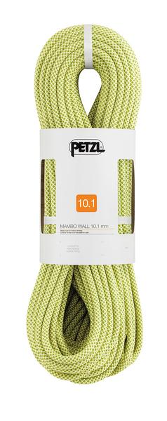 [好也戶外] PETZL MAMBO 10.1 mm 攀岩繩/主繩/運動攀登/動力繩 黃 50M