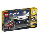 樂高積木LEGO 3合1創作系列 31091 太空梭運輸車