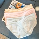 孕婦裝2018新款水洗純棉純色U型無束縛孕婦低腰透氣三角內褲短褲