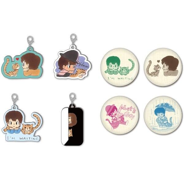 「Takeru與貓」扭蛋(全八種)