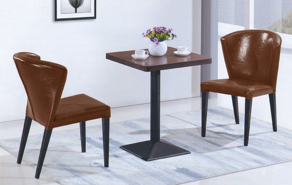 【IS空間美學】艾維卡鐵藝餐桌椅組 一桌二椅