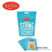 美國Kyser 吉他保養弦油 濕紙巾包裝【1包10片裝/民謠吉他/電吉他/BASS可用】