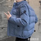 棉衣外套 男士外套秋冬季新款棉衣情侶韓版潮流潮牌棉襖工裝羽絨棉服裝 快速出貨