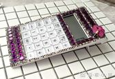 辦公高檔計算機超薄創意帶聲音計算器鑲鑽語音計算器便攜禮品   優家小鋪