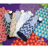 襪子 古著復古 日本氣質個性  SEIO  經典個性獨特圖型   日系典雅 百搭素面格紋 襪子 (4色)