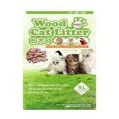 【 ZOO寵物樂園 】Q.PET Wood Cat Litter 松木砂-8L (貓/小動物適用↓
