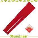 【Mountneer 山林 中性抗UV反光袖套《紅色》】11K99-37/UPF50+/防曬袖套/防曬手套/自行車/機車