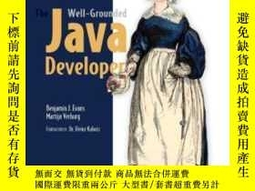 二手書博民逛書店The罕見Well-grounded Java DeveloperY364682 Benjamin J Eva