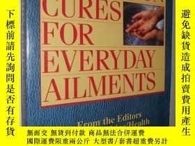 二手書博民逛書店英文原版罕見Uncommon Cures for Everyda