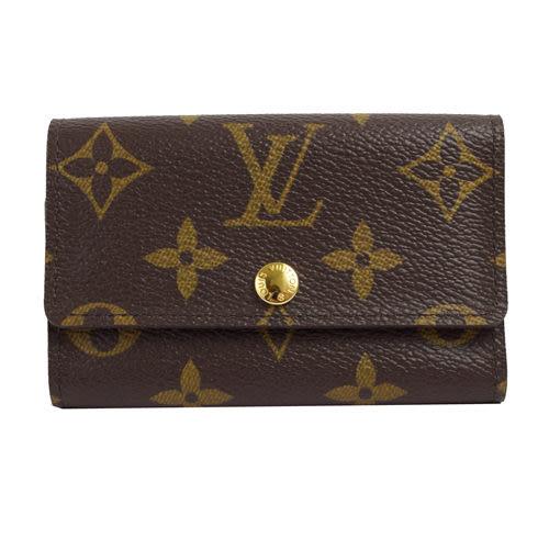 茱麗葉精品 全新名牌 Louis Vuitton LV M62630 Monogram經典花紋6扣鑰匙包(預購)