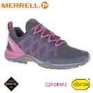 【MERRELL 美國 女 SIREN 3 GORE-TEX 健行鞋《深灰/玫紅》】ML035588/休閒鞋/健行鞋/登山