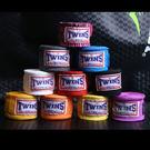 食尚玩家 泰國twins泰拳繃帶拳擊散打綁手帶5M拳套護手帶(一對裝)泰拳裝備