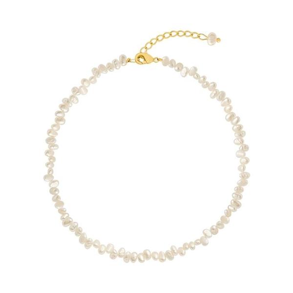 項鍊 巴洛克天然珍珠項鍊女輕奢小眾設計感鎖骨鍊配飾2021新款頸鍊飾品 寶貝寶貝計畫 上新