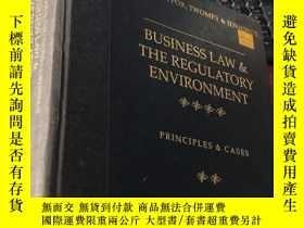 二手書博民逛書店BUSINESS罕見LAW & THE REGULATORY ENVIRONMENT (THIRTEENT EDI