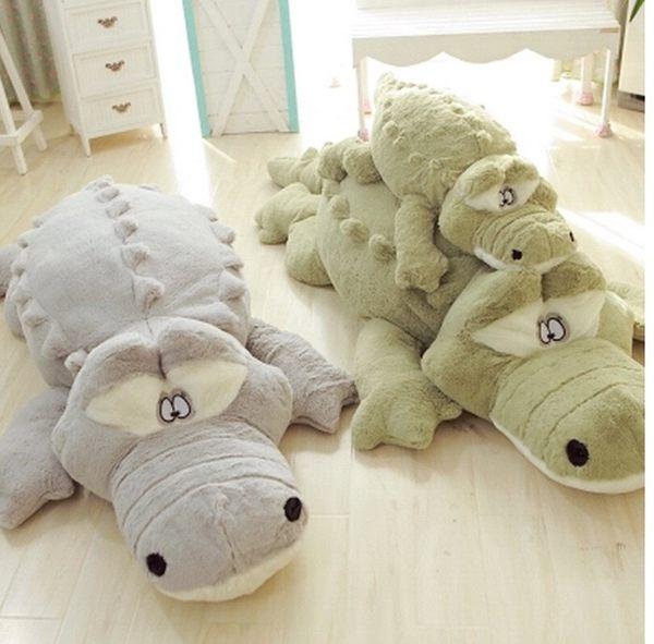 90公分鱷魚抱枕 絨毛玩偶 玩具 情人節禮物 交換禮物 生日禮物(現+預)