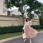 半身裙 夏季新款氣質百搭店主自留溫柔繫 仙女裙繫列超仙紗裙 半身裙 coco衣巷