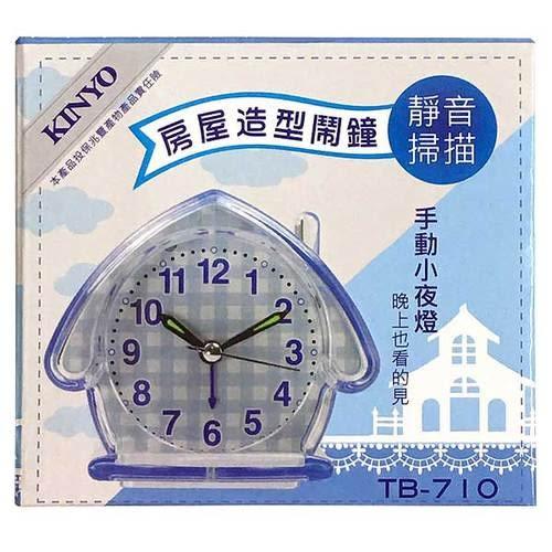 KINYO 房屋造型鬧鐘(TB-710)【康鄰超市】