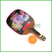 正板桌球拍555(鐵人牌/正手拍/乒乓球拍/直板/握筆型球拍)