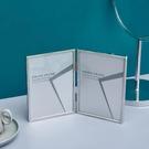 創意簡約桌面輕奢婚紗照玻璃七寸相框 QW6467『夢幻家居』