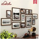 歐式實木照片牆相框牆客廳臥室相片牆創意組...