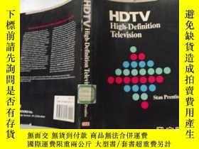 二手書博民逛書店HDTV罕見High-Definition Television