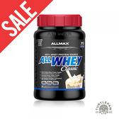 【加拿大ALLMAX】奧美仕ALLWHEY CLASSIC經典乳清蛋白香草口味飲品1瓶 (907公克)