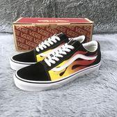 Vans Old Skool Flame 火焰 黑白 基本款 男女鞋